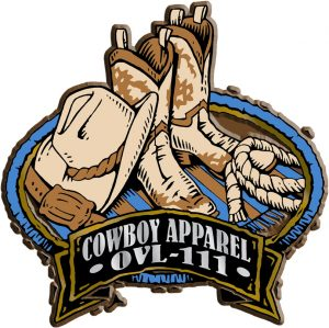 Cowboy Apparel Oval Name-Drop Magnet