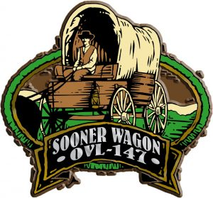Sooner Wagon Oval Name-Drop Magnet