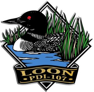 Loon Diamond Name-Drop Magnet