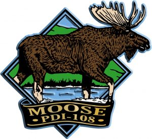 Moose Diamond Name-Drop Magnet