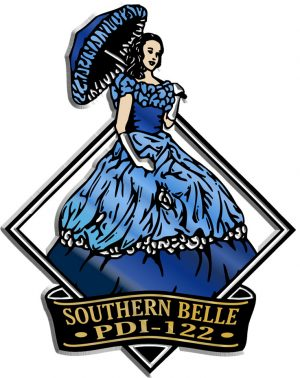Southern Belle Diamond Name-Drop Magnet