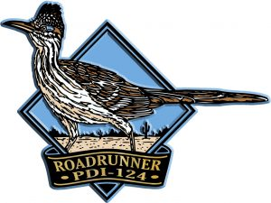 Road Runner Diamond Name-Drop Magnet