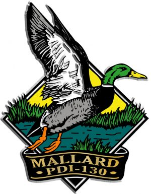 Mallard Diamond Name-Drop Magnet