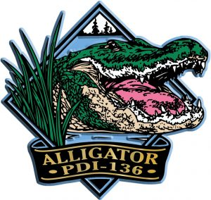 Alligator Diamond Name-Drop Magnet
