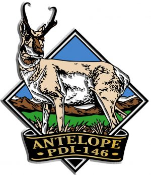 Antelope Diamond Name-Drop Magnet