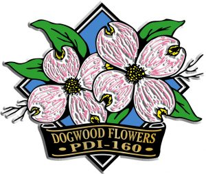 Dogwood Diamond Name-Drop Magnet