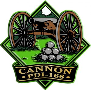 Cannon Diamond Name-Drop Magnet
