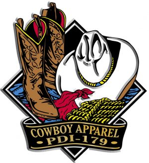 Cowboy Apparel Diamond Name-Drop Magnet