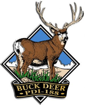 Buck Deer Diamond Name-Drop Magnet