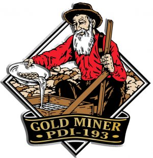 Gold Miner Diamond Name-Drop Magnet