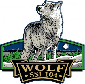 Wolf Signature Series Name-Drop Magnet