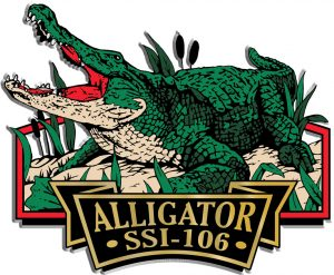 Alligator Signature Series Name-Drop Magnet