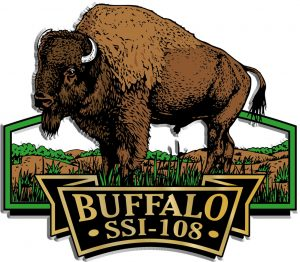 Buffalo Signature Series Name-Drop Magnet