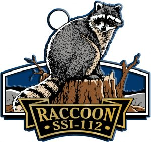 Raccoon Signature Series Name-Drop Magnet