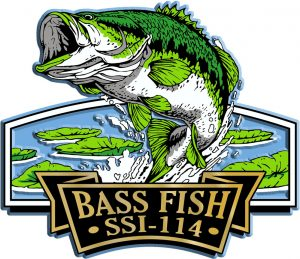 Bass Fish Signature Series Name-Drop Magnet