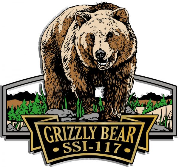 Grizzly Bear Signature Series Name-Drop Magnet