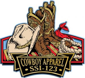 Cowboy Apparel Signature Series Name-Drop Magnet