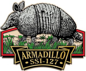 Armadillo Signature Series Name-Drop Magnet