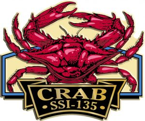 Crab Signature Series Name-Drop Magnet