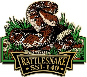 Rattlesnake Signature Series Name-Drop Magnet