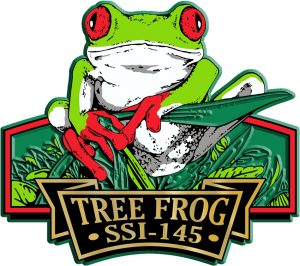 Tree Frog Signature Series Name-Drop Magnet