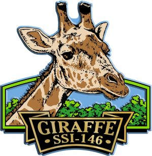Giraffe Signature Series Name-Drop Magnet