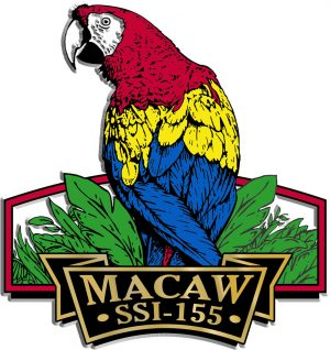 Macaw Signature Series Name-Drop Magnet