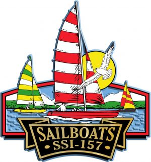 Sailboat Signature Series Name-Drop Magnet