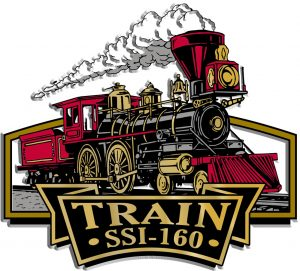 Train Signature Series Name-Drop Magnet