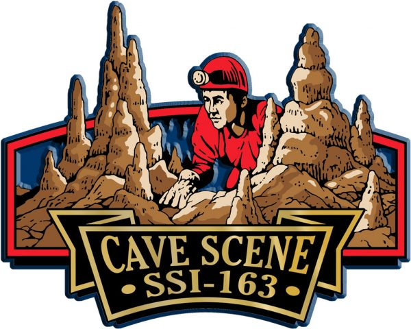 Cave Scene Signature Series Name-Drop Magnet
