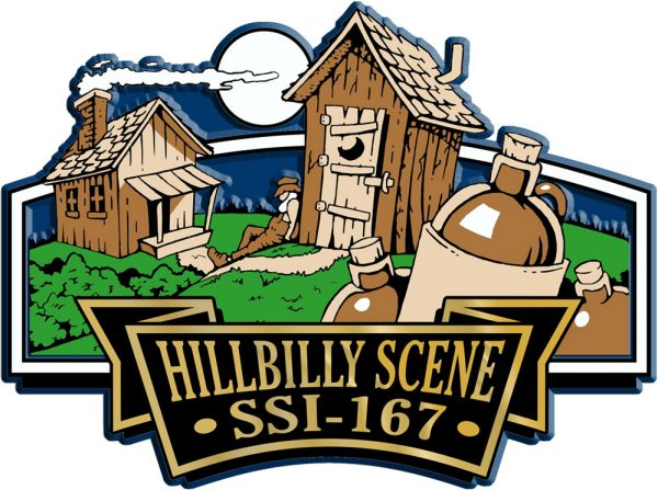 Hillbilly Signature Series Name-Drop Magnet