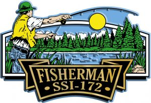 Fisherman Signature Series Name-Drop Magnet