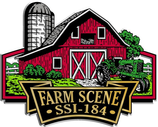 Farm Scene Signature Series Name-Drop Magnet