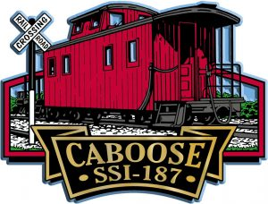 Caboose Signature Series Name-Drop Magnet