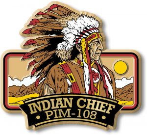 PIM-108 Indian Chief Magnet